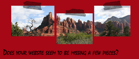 Sedona Mountains - Website missing a few pieces?